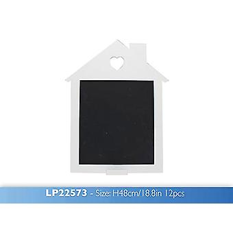 White House Chalk Board Hanging Menu Message Notice Black Memo Board