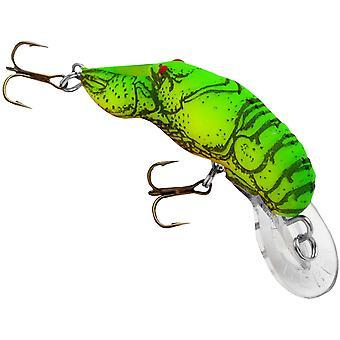 Rebel Teeny Wee Crawfish 1/10 oz Fishing Lure - Chartreuse/Green Back