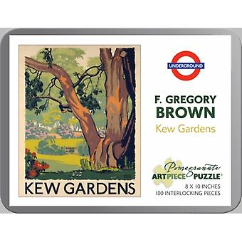 F. Gregory Brown: Kew Gardens 100-piece Jigsaw Puzzle