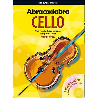 Abracadabra Cello: The Way to Learn Through Songs and Tunes (Abracadabra Strings) (Book & CD) (Paperback) by Passchier Maja