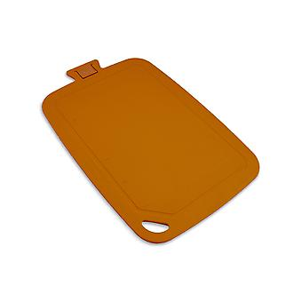 Wellos Eco Friendly Antibacterial Chopping Board, 38cm x 25cm, Orange