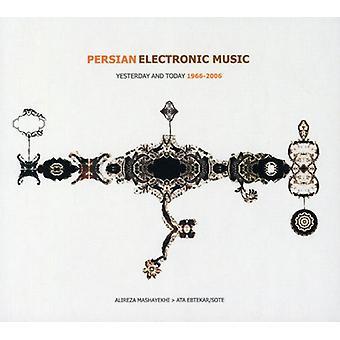 Mashayekhi, Alireza & Ata Ebtekar/Sote - Persisk elektronisk musik-i går & dag ' 66-'06 [CD] USA import