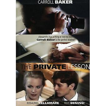 Privat lektion [DVD] USA importerer