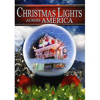 Jul lys tværs over Amerika [DVD] USA importerer
