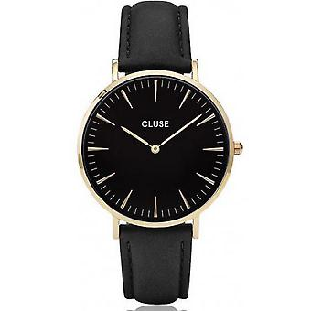 Watch Cluse Bohemia CL18401 - black gold mixed