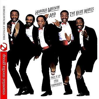 Harold Melvin & the Blue Notes - snakke det opp (fortelle alle) [DVD] USA importere