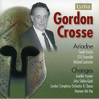 G. crosse - Gordon Crosse: Ariadne; Ændringer [CD] USA importerer