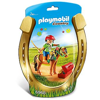 Playmobil 6968 Country Collectable Groomer with Bloom Pony