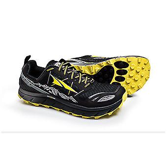 Altra Lone Peak 3.0 Mens Running Shoes Black/Yellow