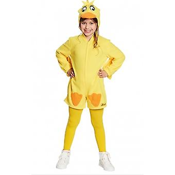 Duck costume duck costume children programme with the mouse yellow