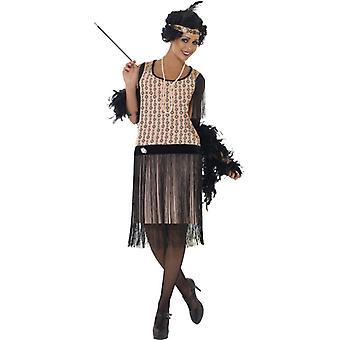 jaren 1920 Coco flapper kostuum jurk sigaret houder ketting & hoofd sieraden