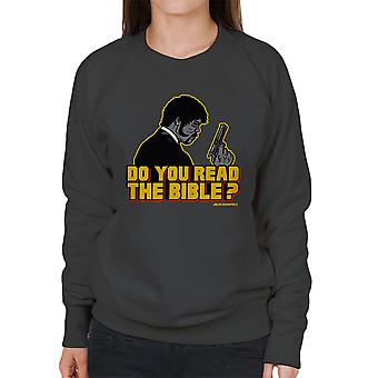 The Shepherd Jules Winnfield Pulp Fiction Women's Sweatshirt