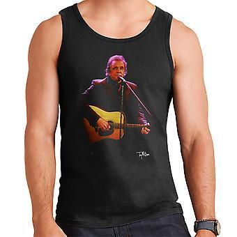 Johnny Cash pelissä kitara miesten liivi