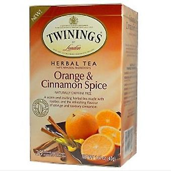 Twinings London Orange & Cinnamon Spice örtte