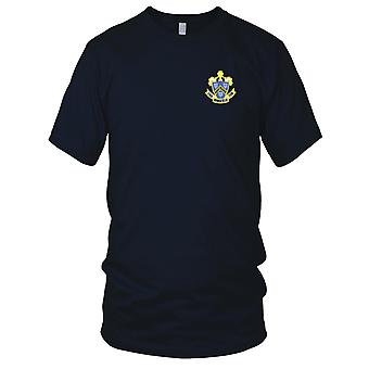 US Navy DD-728 USS Mansfield Embroidered Patch - Kids T Shirt