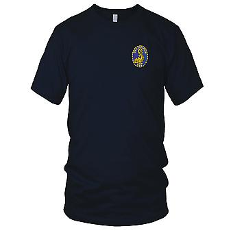 US Navy SS-555 USS Dolphin Embroidered Patch - Ladies T Shirt