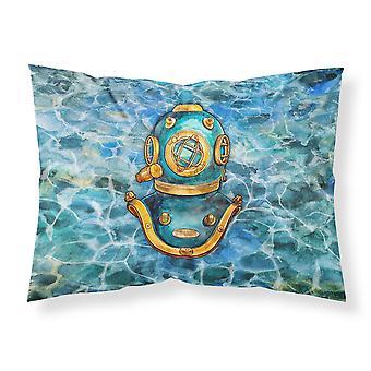 Deep Sea Diving Helmet Fabric Standard Pillowcase