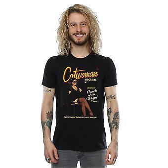DC Comics Men's Catwoman Bombshell Cover T-Shirt