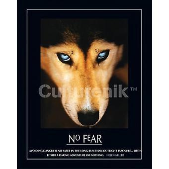 Aucune crainte Wolf affiche Poster Print