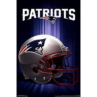 New England Patriots - Logo 13 Poster afdrukken
