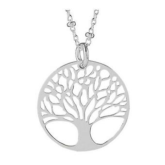 Orton West Large Tree of Life Pendant - Silver