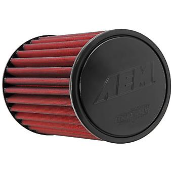 AEM 21-2059DK Universal DryFlow Clamp-On Air Filter: Round Tapered; 4 in (102 mm) Flange ID; 9.188 in (233 mm) Height; 6