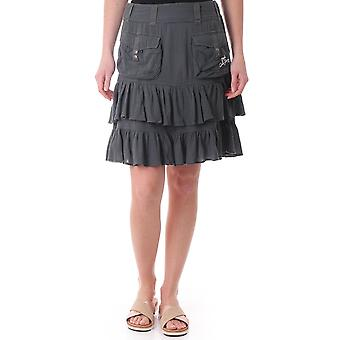 Diesel Kunasir Ruffle Skirt In Cheesecloth