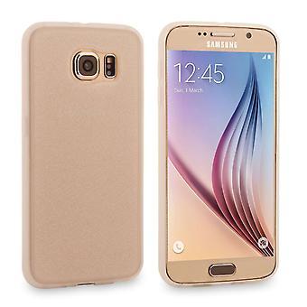Caseflex Samsung Galaxy S6 Flash myk sak - sølv