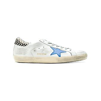 Golden Goose men's G32MS590E97 silver leather of sneakers