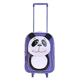 La faune Karabar Panda enfants Trolley sac, violet