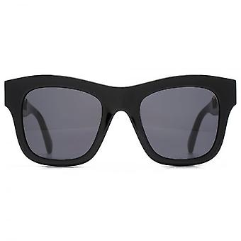 Stella McCartney Falabella Chain Temple Detail Square Sunglasses In Black