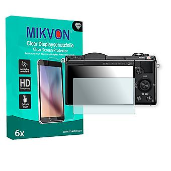 Sony Alpha 5100 Screen Protector - Mikvon Clear (Retail Package with accessories)