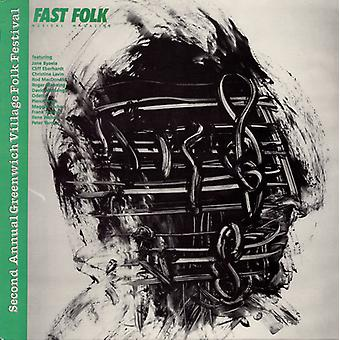 Fast Folk Musical Magazine - Vol. 4-Fast Folk Musical Magazine (10) Second [CD] USA import