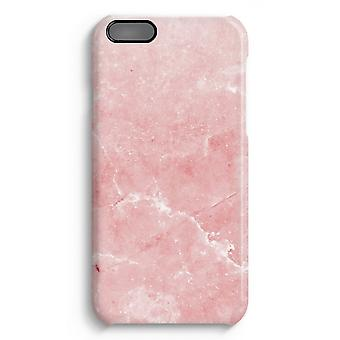 iPhone 6 Plus Full Print Case (Glossy) - Pink Marble