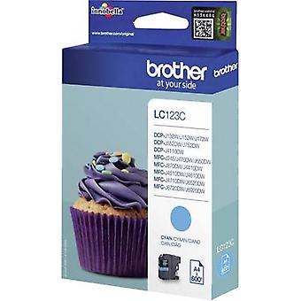 Brother Ink LC-123C Original Cyan LC123C