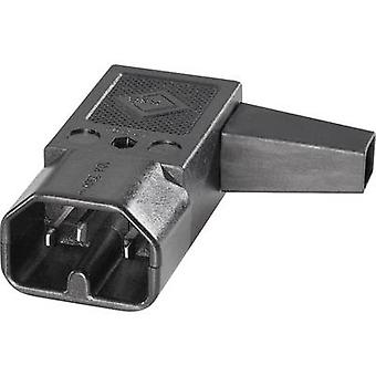 Hot wire connector C16 Series (mains connectors) 42R Plug, right angle