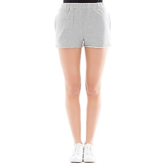 Forte Couture ladies FC1SS1890GREY grey cotton of shorts