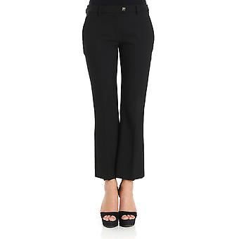 Versace collection women's G35352G600556G1008 black polyester pants