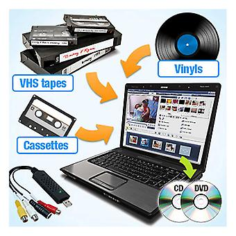 QuickCapture VHS/Tape/Vinyl, DVD/CD Konverter
