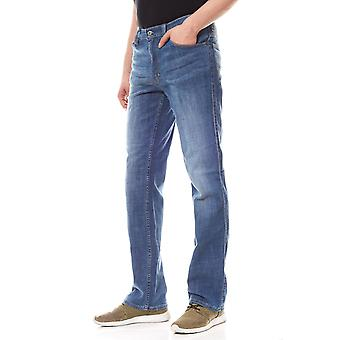 MUSTANG trousers mens jeans blue tramper