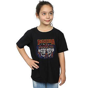 T-Shirt schedel overheersing van Pantera meisjes