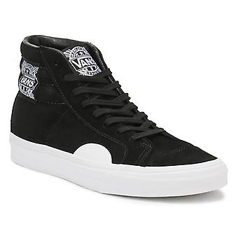 Vans Mens Black / White Native Suede Style 238 Trainers
