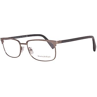 Zegna glasses men's gunmetal