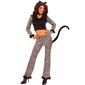 Cat Costume (Top Pants W/Tail Ears Choker)