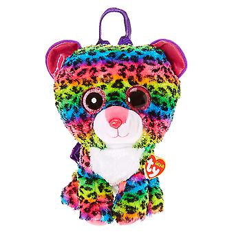 TY Dotty Leopard Beanie Boo Back Pack