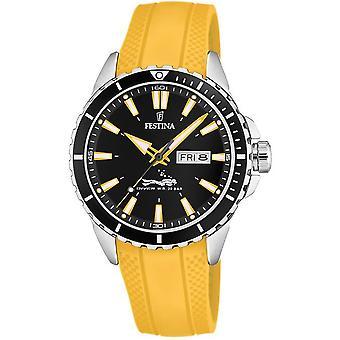 Festina mens watch of diver F20378/4