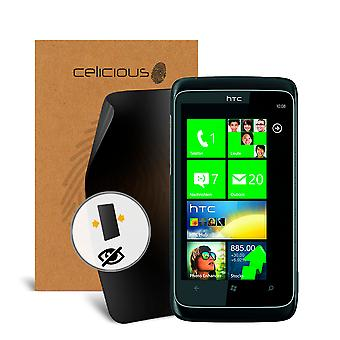 Celicious Privacy 2-Way Visual Black Out Screen Protector for HTC 7 Trophy