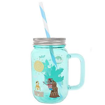 Something Different Pirate Adventure Drinking Jar