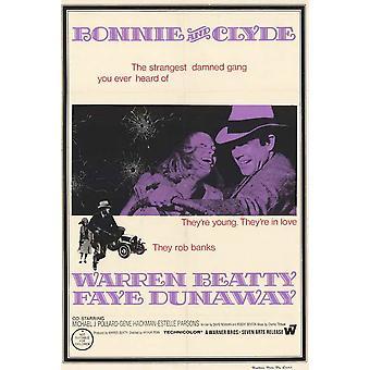 Bonnie & Clyde Movie Poster (11x17)