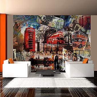 Tapet - London collage